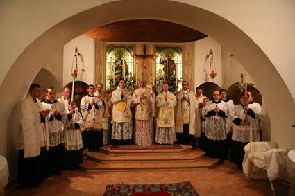 Ordinations sacerdotales novembre 2005