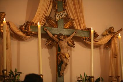Crucifix - chapelle de Turin