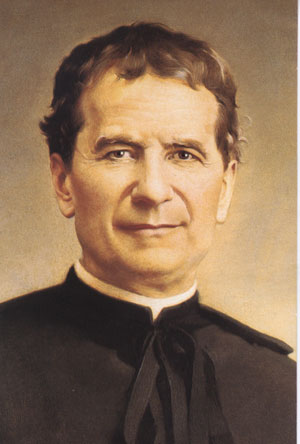 Portrait de saint Jean Bosco